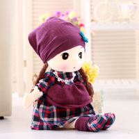 lovely colourful doll 60 cm plush toy soft pillow ,Christmas gift y006