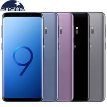 "D'origine Samsung Galaxy S9 4G LTE Dual Sim Android Mobile téléphone 4G RAM 64G ROM Octa-core 5.8 ""12MP D'empreintes Digitales NFC Smartphone"