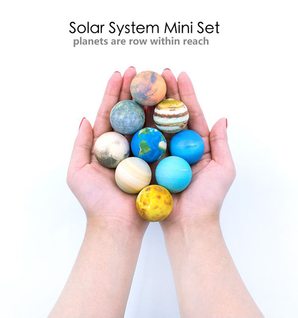 Solar System And Planet Toys : Solar system mini set simulation planet earth popular d