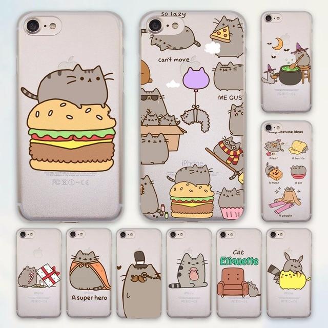 half off 07f65 627da Pusheen Cat Case for iPhone