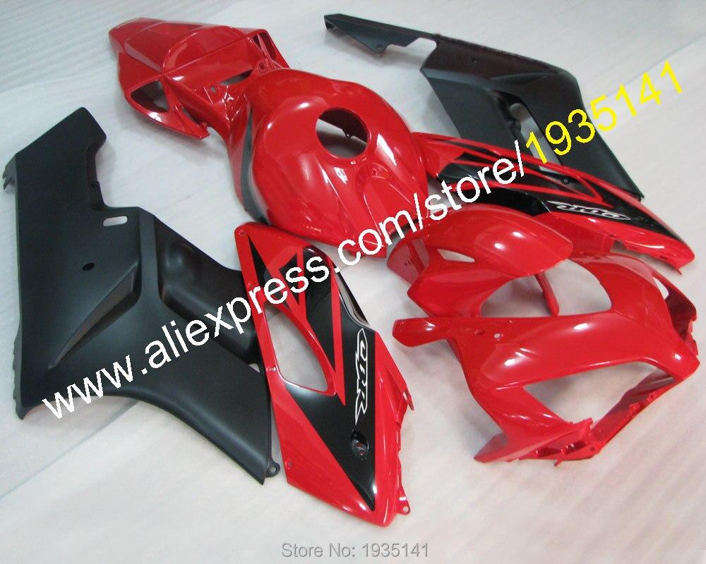 Горячие продаж,для Honda ЦБ РФ 1000 рублей 2004 2005 ЦБ РФ 1000rr части CBR1000RR 04 05 черный красный мотоцикл Обтекателя (литье под давлением)