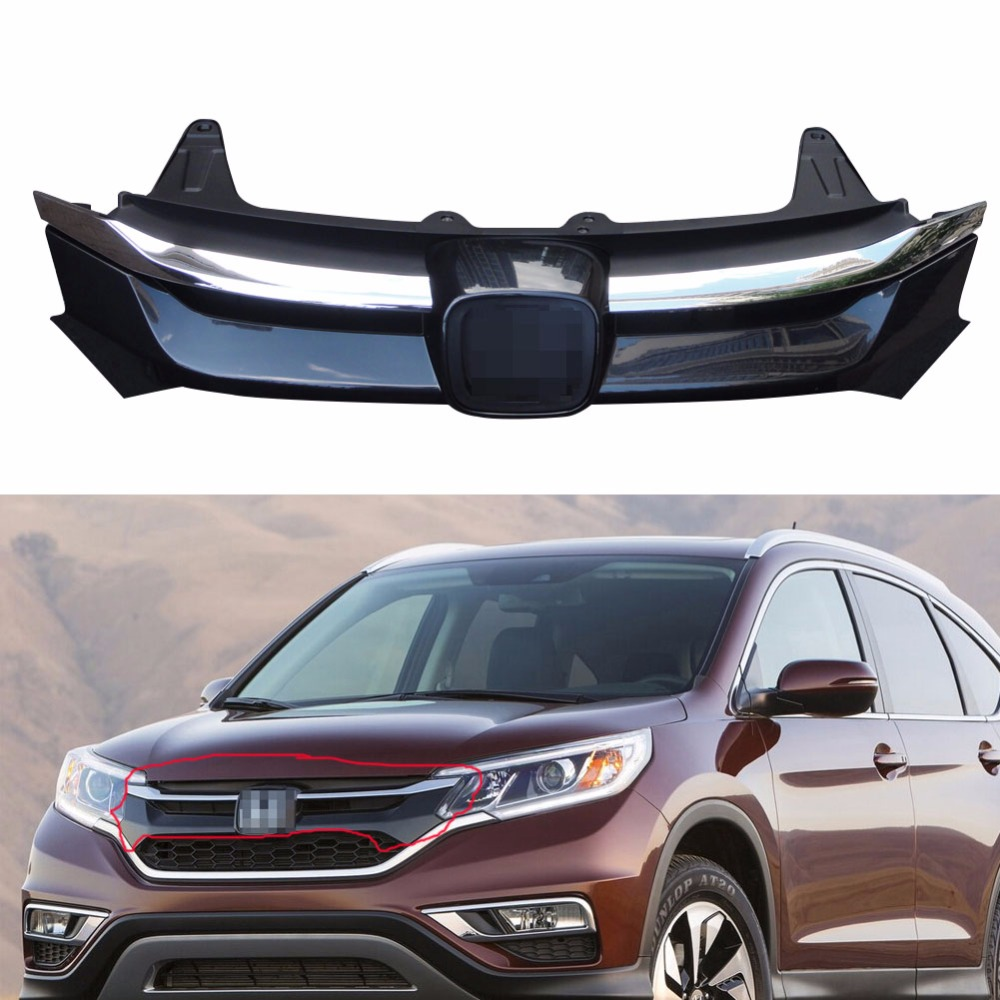 Aliexpress Com Buy Chrome Front Upper Grill Grille For: 1Pcs Chrome Front Bumper Upper Grill Radiator Grille For