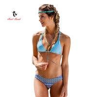 2017 Ariel Sarah Brand New Arrival Summer Sexy Tie Dye Bikini Women Swimwear Super Push Up