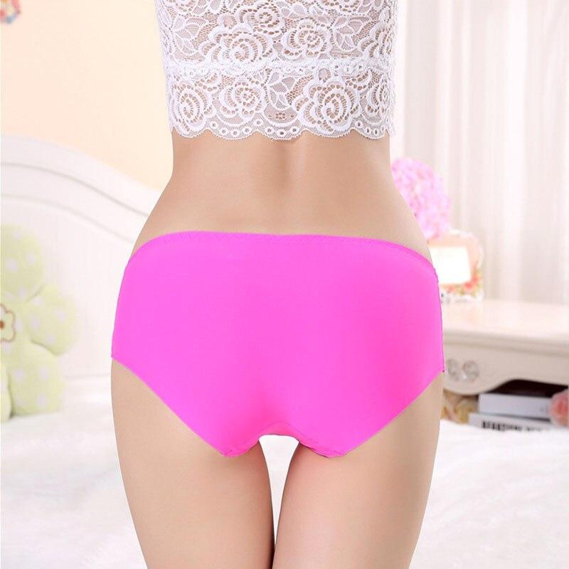 Women briefs Plus Size High waist underwear Ultra-thin Panties