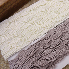 Polyester embroidered lace leaf water soluble lace trimming fabric high quality width 1.5cm Free shipping (20 yards/lot) thin embroidered lace hight quality 4 5in wide water soluble lace white polyester lace fabric for dress 5yards