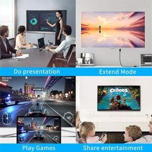Image 4 - VGA HDMI dağıtıcı 3.5mm ses dönüştürücü desteği çift ekran PC projektör HDTV çok portlu VGA adaptörü