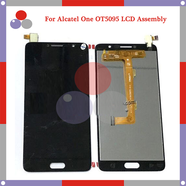Para alcatel one touch pop 4s 5095 ot5095 5095b 5095i 5095 K Pantalla LCD Display + Touch Screen Digitalizador Asamblea Gratuito gratis