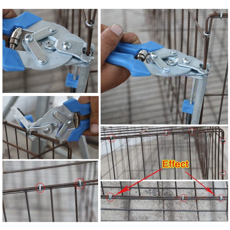 Rabbit Dog Wire Cage Installation Clamp Pet Cages Pliers Chicken Quail Cat Dog Cage Clamp Tools Rabbit cage Tools  - buy with discount