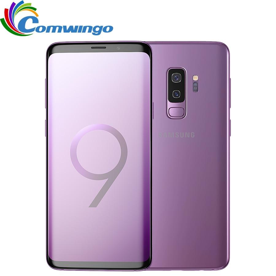 Оригинальный samsung Galaxy S9 плюс 6 ГБ Оперативная память 64 ГБ/128 ГБ Встроенная память Snapdragon 845 Android 8,0 отпечатков пальцев LTE 6,2 дюймов Dual Sim мобильный...