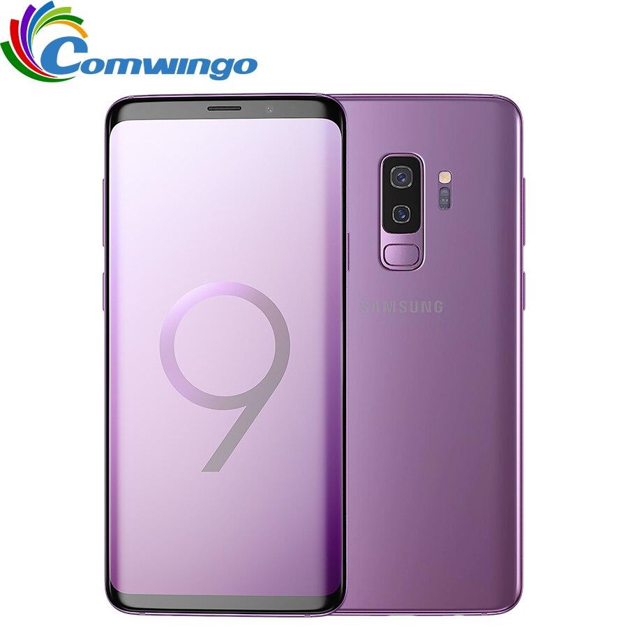 Originale Per Samsung Galaxy S9 Più di 6 gb di RAM 64 gb/128 gb di ROM Snapdragon 845 Android 8.0 di Impronte Digitali LTE 6.2 pollice Dual Sim Del Telefono Mobile