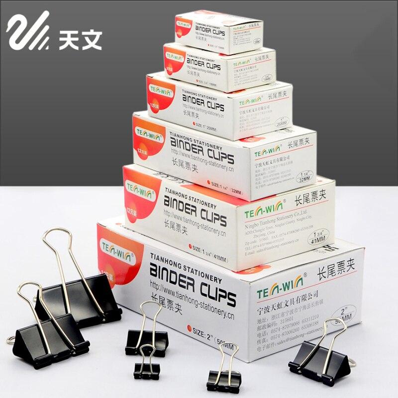 12 Pcs/lot 25mm Mini Paper Holder Memo Clips Metal Clamps DIY Binder Clips Kawaii Stationery Office Binding School Supplies