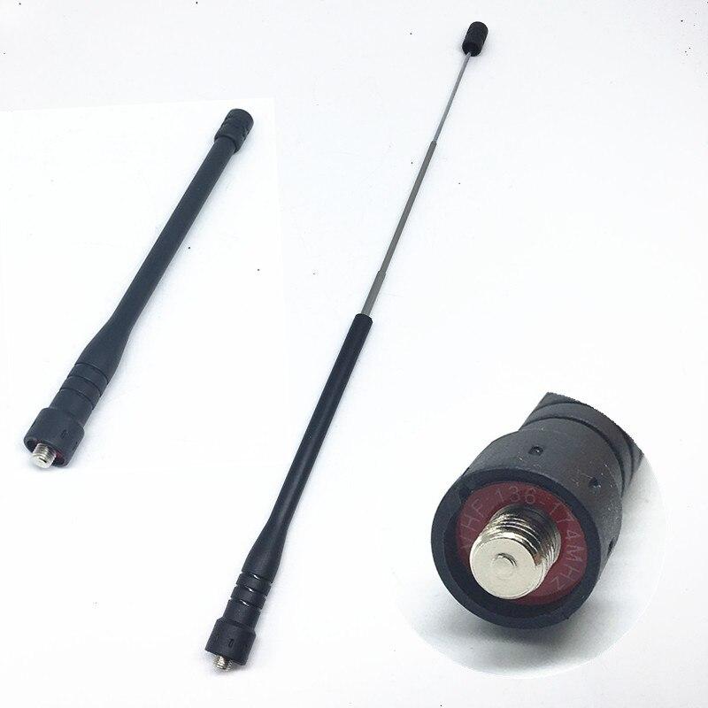 Telescope High Gain VHF 136-174Mhz antenna for motorola gp328,gp338,ep450,gp340,gp388,gp344,cp040,gp88s,a8 etc walkie talkie