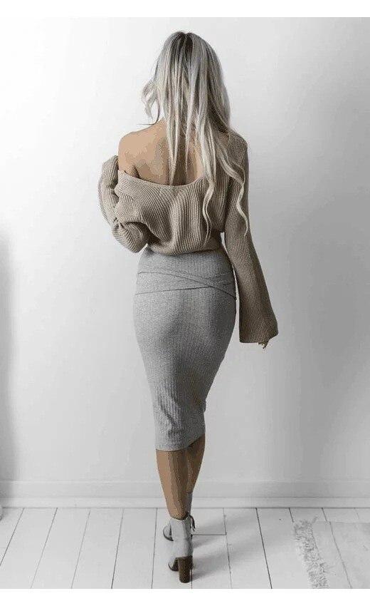 HTB1Ui5fOFXXXXaJXFXXq6xXFXXXx - Sweater Women Autumn Winter Flare Sleeve JKP084