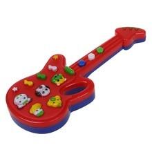 2pcs ofChild Baby Kids Foxy Electronic Guitar Rhyme Developmental Music Sound Toy
