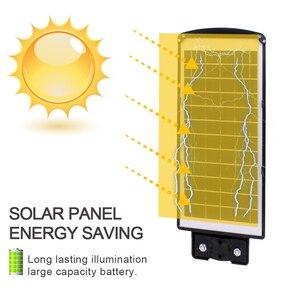 Image 5 - High Quality IP67 60W LED Solar Street Light Outdoor Waterproof Light Control Sensing Smart Led Light Garden Lamp