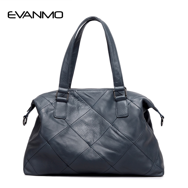 Female Genuine Leather Bags Large Shoulder Crossbody Handbag 2018 High Quality Big Ladies Bags Women Cowhide Leather female handbag bag fashion women genuine leather cowhide large shoulder bag crossbody ladies famous brand big bags high quality
