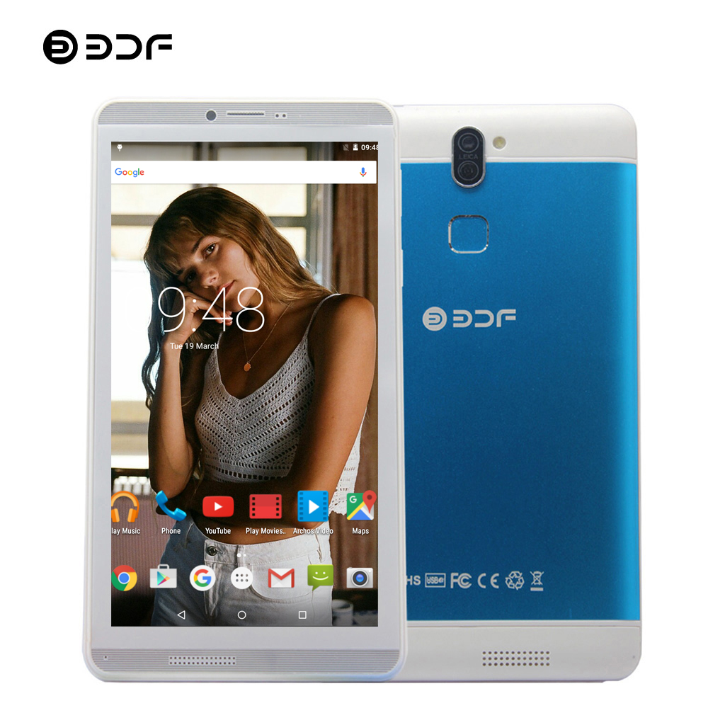 Moscow Shipping BDF 2019 Tablet 7 Inch Tablet Pc Q706 Original Android 6.0 Tablet 16GB/1GB Quad Core Built-in 3G Phone Tablet 7
