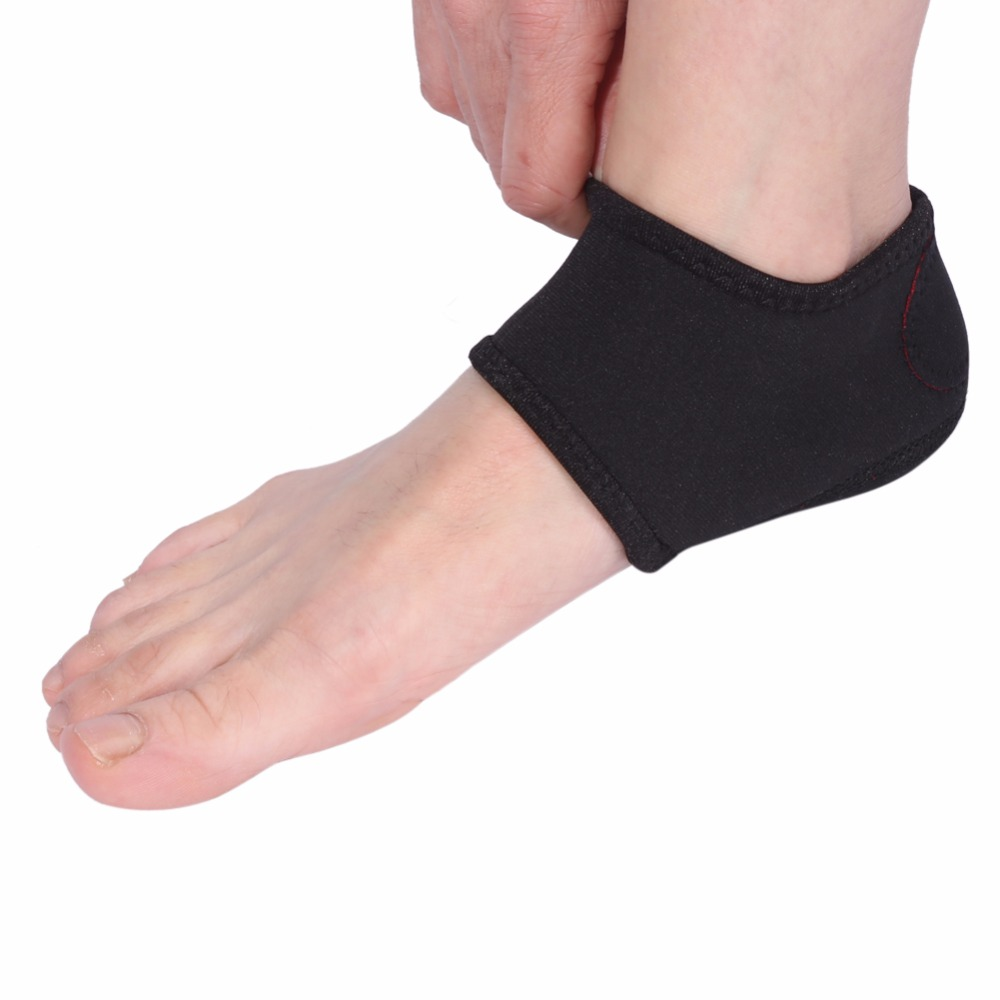 2pcs=1pair Elastic Cottopedicure Socks Ankle Support Compression Bandage Brace Feet Sleeve Foot Protector Foot Care Tools Skin Care Tools