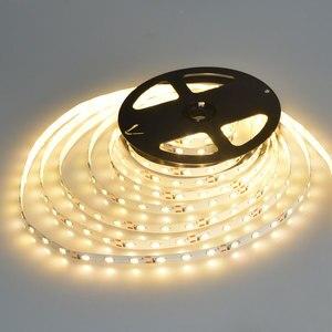 Image 4 - 5 メートル 10 メートル高品質 5630 SMD DC12V 非防水ウォームホワイト/白色 led ストリップライト柔軟なバーライト屋内家の装飾ライト