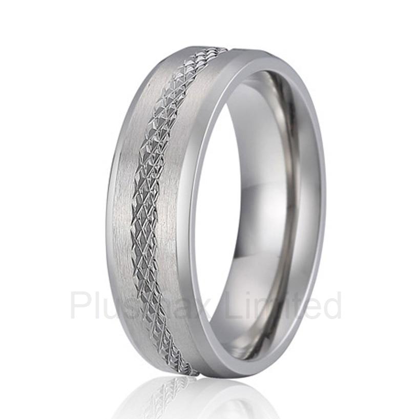 high quality perfect partner gift for men pure handmade titanium wedding band love ring цена 2017