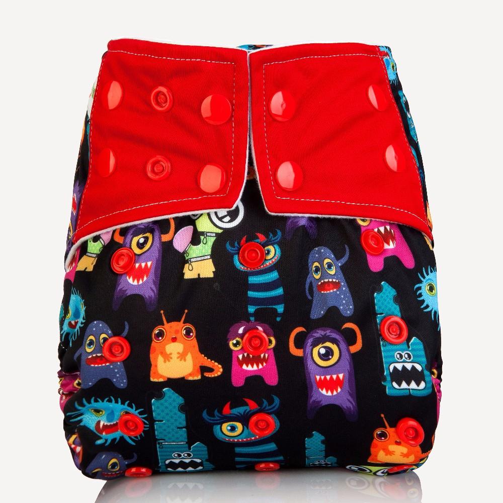 [Mumsbest] 2017 AIO Cloth pieluchy Pokrywa Z Mikrofibry Wkładki Wielokrotnego Użytku Dla Niemowląt Dla Niemowląt Chłopców i Dziewcząt Prać Tkaniny Pieluchy Pieluszki 7