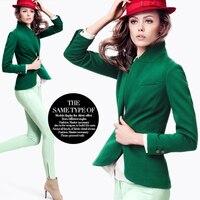 2016 printemps et automne fruits vert tricot extensible coton tissu de mode robe coton tissus en gros haute qualité coton tissu