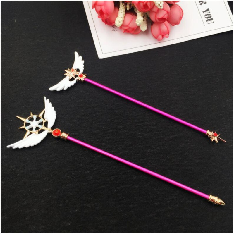 Costume Props Ingenious Anime Card Captor Sakura Cosplay Costumes Accessories Props Magic Stick Canes Novelty & Special Use