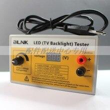 Outil de Test 0 230V, rétro éclairé TV, outil de Test LED, avec affichage de tension, pour toutes les applications ampoules LED, prises ue