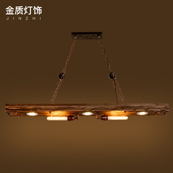 Loft luce del pendente del ferro 4 lampadine di edison. Discoteca industriale metallo Steampunk punk lampada Vintage retro deco Apparecchio di Illuminazione