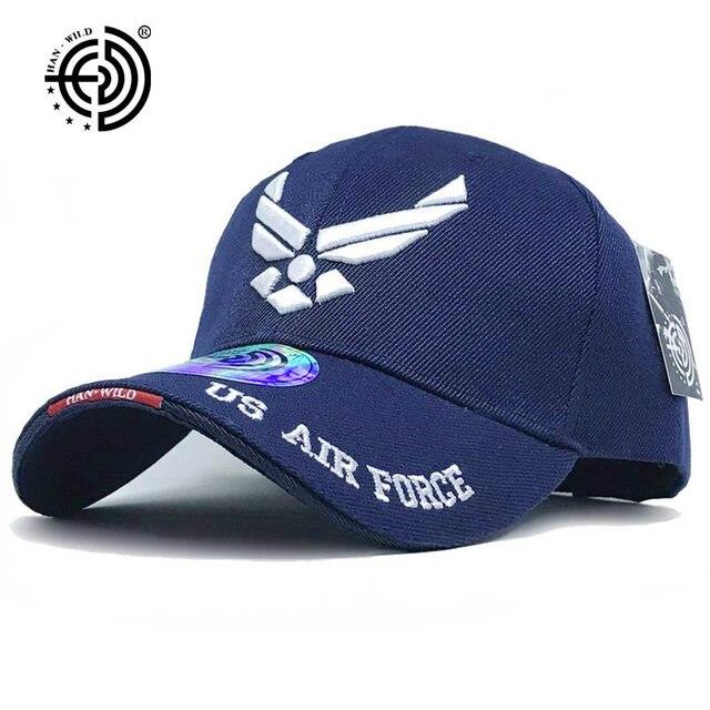 4e2a29cfeea  HAN WILD  Brand USAF Tactical Baseball Cap Mountaineer Caps Casual Air  Force Cap Men