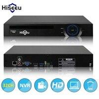 2HDD 24CH 32CH CCTV NVR 720 P 960 P 1080 P 3 M 5 M DVR Mạng Ghi Video H.264 Onvif 2.0 cho IP Camera 2 SATA XMEYE P2P đám mây