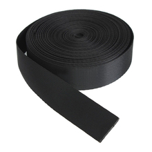 Black 10 Yards Nylon Webbing Tape Multi-use Strap Strapping (25mm) Width