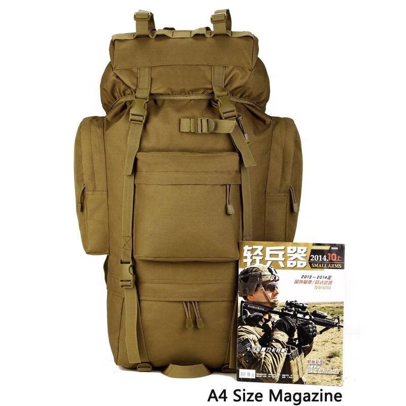 Protecteur PLUS randonnée chasse sac à dos confort tactique Style militaire sac d'école étanche haute capacité sac de voyage en plein air - 4