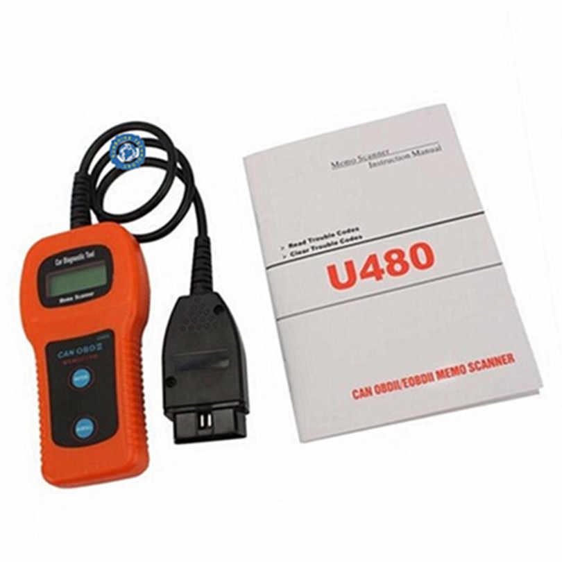 2019 U480 OBD2 CAN BUS/ Engine Code Reader memoscan U480 OBD2 OBDII Car or  Truck AUTO Diagnostic Engine Scanner