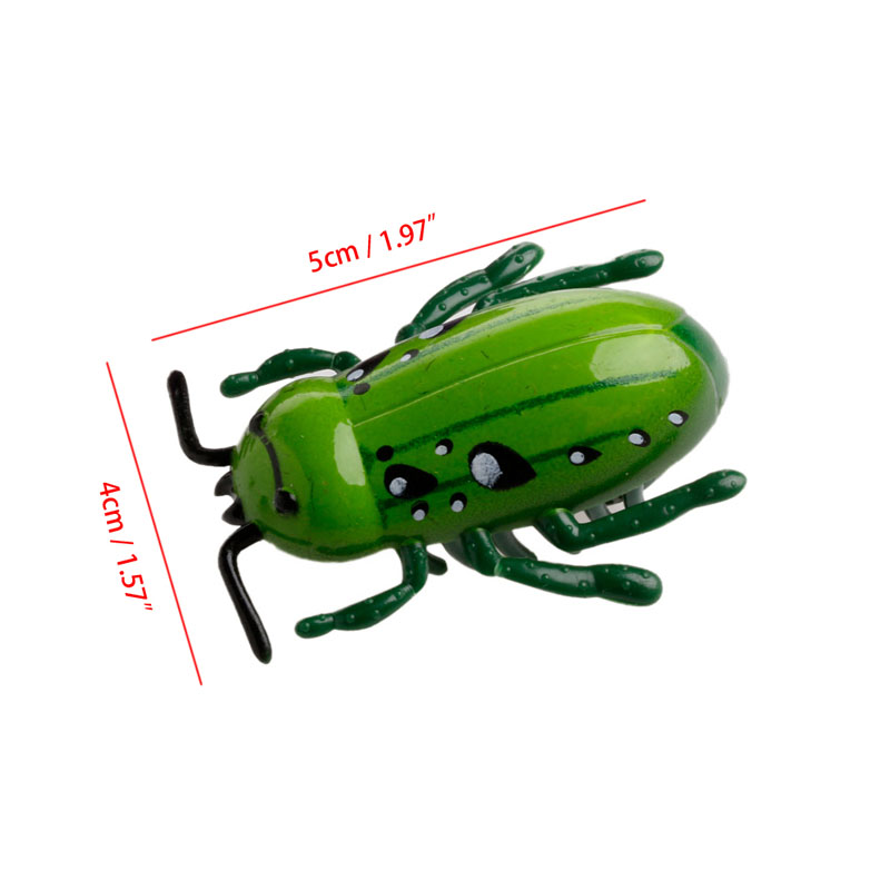 New Electronic Trick-Playing Toy Electric Simulation Insect Crawl Vibration Toys Y51E