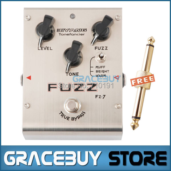 Biyang Tonefancier FZ-7 Guitar Bass Effect Pedal 3 Models Fuzz Distortion Pedal True Bypass Brand New , Free Shipping mooer grey faze vintage fuzz guitar pedal fuzz distortion guitar effect pedal full metal shell true bypass free shipping
