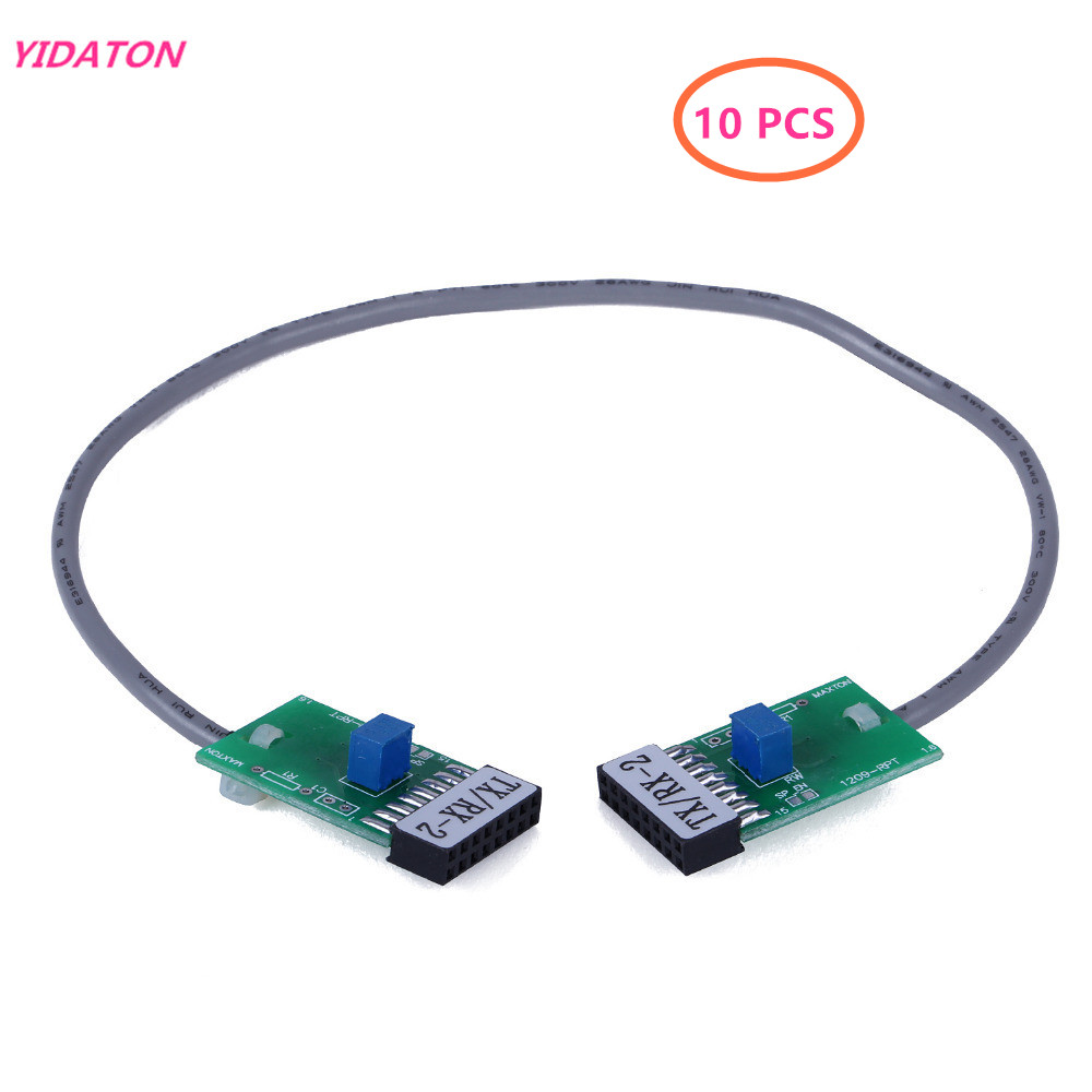 10 pcs Radio Relay Station Repeater <font><b>Connector</b></font> Cable TX-RX Double Transfer Bidirectional for <font><b>Motorola</b></font> <font><b>GM300</b></font> 338 3188 950E SM120 image