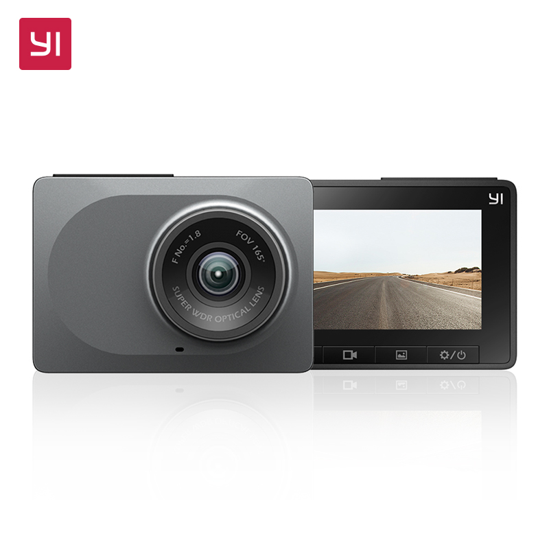 YI Dash Camera 2.7 Screen Full HD 1080P 60fps 165 degree Wide-Angle Car DVR Vehicle Dash Cam with G-Sensor Night Vision ADAS full hd 1080p vehicle blackbox dvr with g sensor