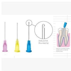 Image 1 - 150 sztuk Dental Endo nawadnianie końcówka igłowa 25G/27G/30GA 30G koniec zamknięty otwór boczny Endo strzykawki porady