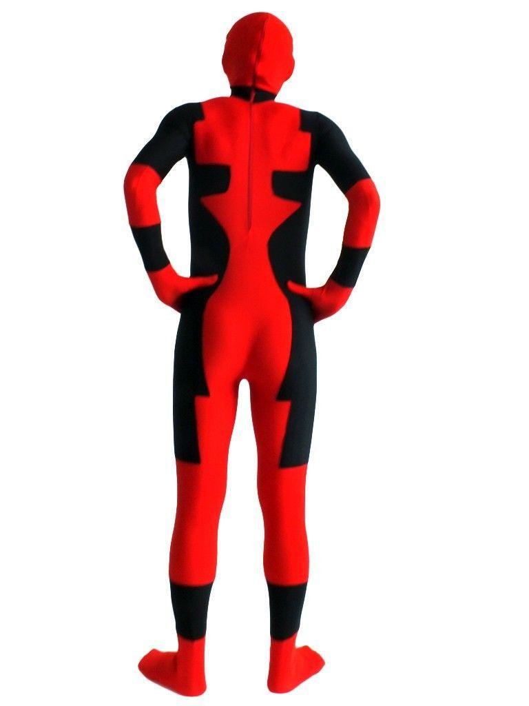 """Raudonos ir juodos """"deadpool"""" kostiumo - Karnavaliniai kostiumai - Nuotrauka 2"""