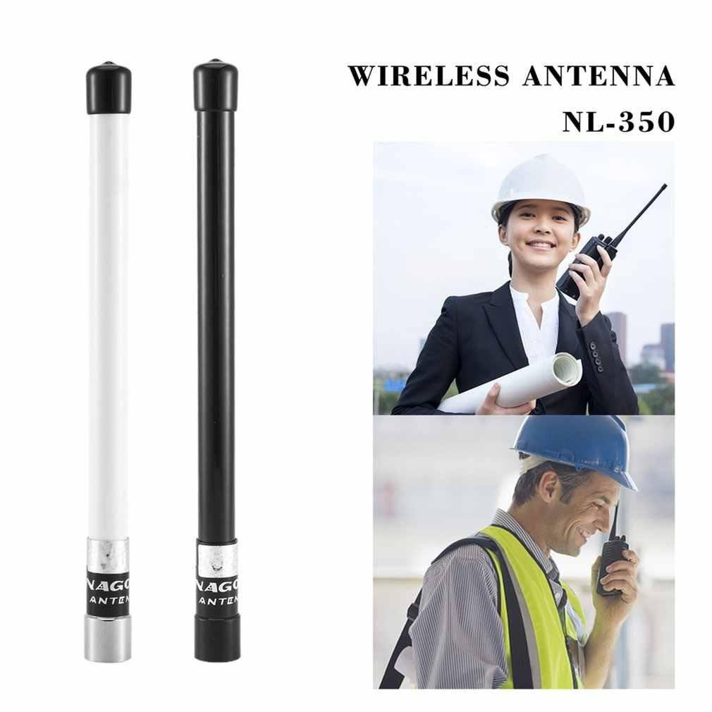 NL-350 グラスファイバー空中 VHF + UHF 144/430 mhz のデュアルバンド高利得アンテナ TH-9800 UV-25HX 車ラジオ携帯