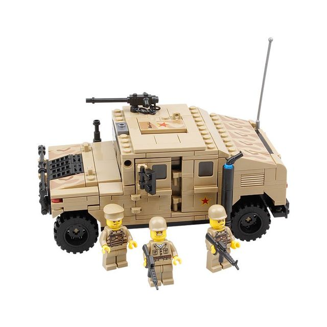 Military Hummer Building Set (420 Pieces)