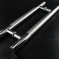 Storefront 1000mm Door Pull Handles Stainless Steel 39 1 3 Inches For Entry Glass Door