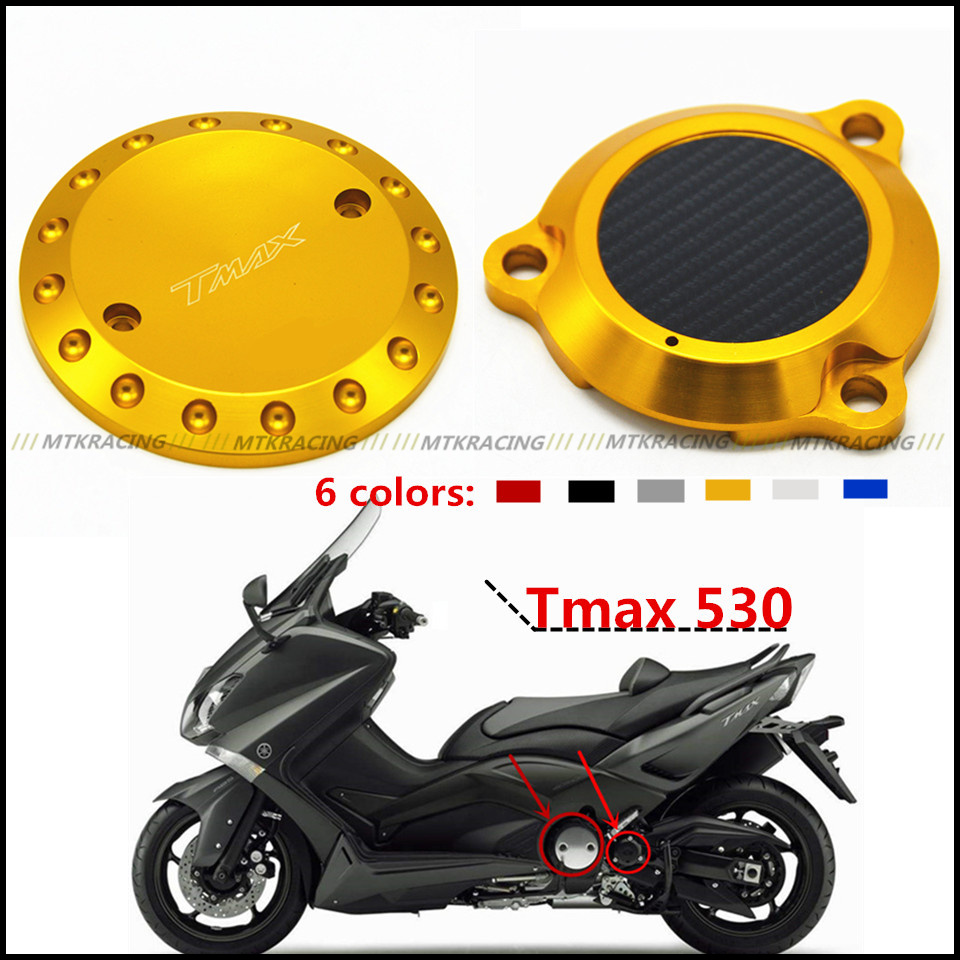 aluminum Motorcycle Engine Stator Protective Cover set decoration for yamaha TMAX530 T-MAX 530 2012-2016 13 14 15 aluminum water cool flange fits 26 29cc qj zenoah rcmk cy gas engine for rc boat