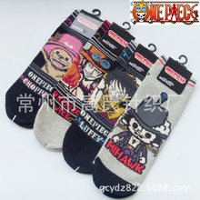 Luffy Dracule Mihawk Tony Chopper Cotton Socks