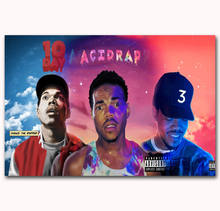 ed6c8e6fe3d1 MQ144 Chance The Rapper Acid Rap Custom Rap Music Cover Hot Art Poster Top  Silk Light Canvas Home Decor Wall Picture Printings
