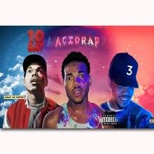 241197605b242 MQ144 Chance The Rapper Acid Rap Custom Rap Music Cover Hot Art Poster Top  Silk Light