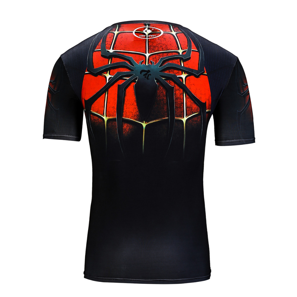 2017 erkek ünlü marka hızlı kuru t shirt spor erkekler - Erkek Giyim - Fotoğraf 3