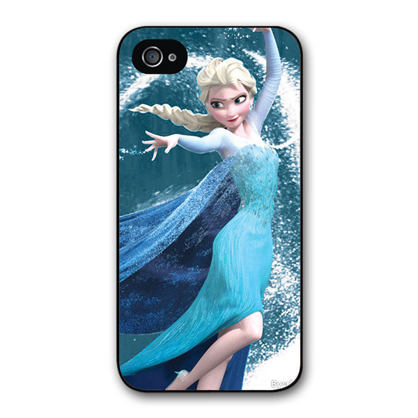 Free shipping Custom designed Helado chica Snow Queen Cover case for iphone 4 4s 5 5s 5c mobile phone case z4117