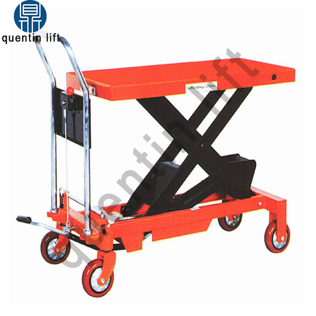 US $450 0 |Loading capacity 300kg manual trolley hot sale trolley scissor  lift on promotion-in Car Jacks from Automobiles & Motorcycles on